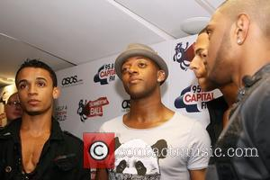 Aston Merrygold, Ortise Williams, Marvin Humes and Jonathan Jb Gill Of Jls