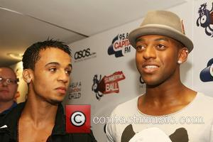 Aston Merrygold and Ortise Williams Of Jls