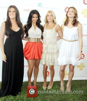 Khloe Kardashian, Kelly Ripa and Kim Kardashian