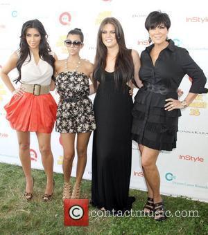Kim Kardashian, Khloe Kardashian and Kourtney Kardashian