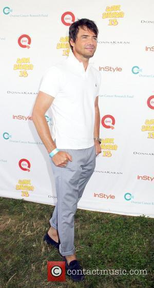 Matthew Settle attends Super Saturday 13 designer garage sale to Benefit Ovarian Cancer Research Fund hosted by InStyle Magazine at...