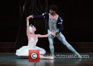 Carlos Acosta and the Ballet Nacional De Cuba  Swan Lake - photocall held at the Coliseum, St Martin's Lane....