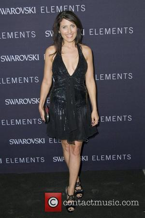 Lisa Edelstein The 'Swarovski Elements 22 Ways To Say Black' event at Philips de Pury New York City, USA -...