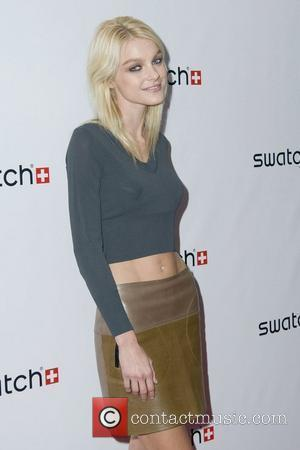 Jessica Stam The launch of Swatch 'New Gents Collection' at Gansevoort Park Avenue New York City, USA - 06.10.10