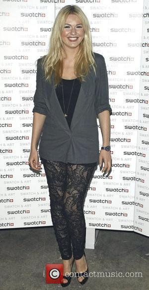 Zoe Salmon attends the Swatch Art Party held London Bridge London, England - 06.05.10