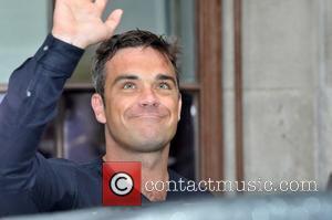 Robbie Williams and Chris Moyles