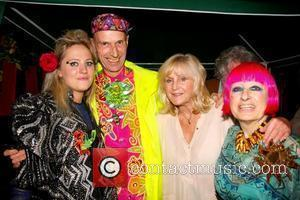 Tallulah Rendall and Zandra Rhodes