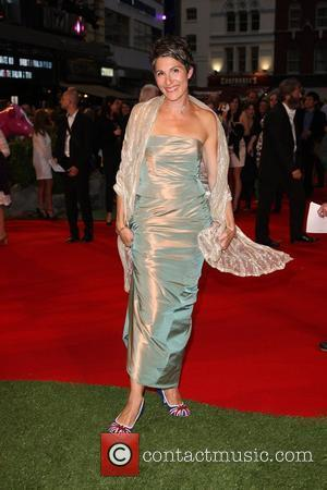 Tamsin Greig 'Tamara Drewe' UK film premiere held at the Odeon, Leicester Square.  London, England - 06.09.10