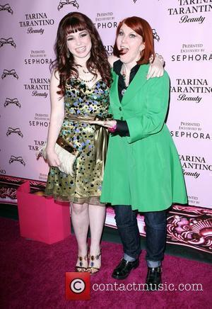 Jennifer Stone and Kate Flannery The Launch Of Tarina Tarantino Beauty presented at Sephora held At Private Venue Los Angeles,...