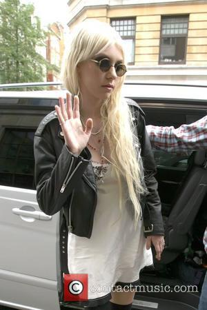 Taylor Momsen arriving at the BBC Radio One studios London, England - 11.05.10