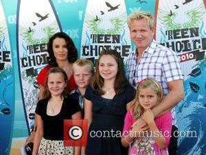 Gordon Ramsay, Tana Ramsay and family The 12th Annual Teen Choice Awards 2010 held at the Universal Gibson Ampitheatre -...