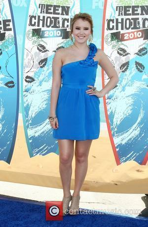 Taylor Spreitler The 12th Annual Teen Choice Awards 2010 held at the Universal Gibson Ampitheatre - Arrivals Los Angeles, California...