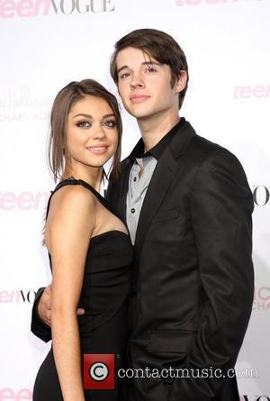 Sarah Hyland and Guest 8th Annual Teen Vogue Young Hollywood Party at Paramount Studios- Arrivals Los Angeles, California - 01.10.10