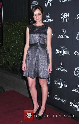 Alexis Bledel the Premiere of 'Teenage Paparazzo' at the 15th anniversary of the Gen Art film festival. New York, USA-...