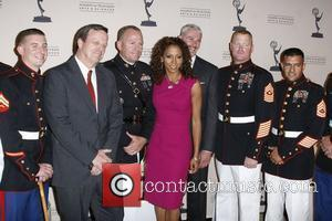 Holly Robinson Peete and The Marines