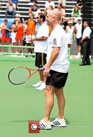 Pete Sampras and Andre Agassi