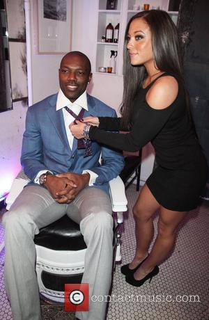 Terrell Owens and Sammi Sweetheart Giancola Terrell Owens Speakeasy Soiree in conjunction with the 'Alzheimer's Association' at the Blind Barber...