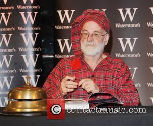Multi-million-selling British Author Sir Terry Pratchett At A Book Signing At Waterstone's In Piccadilly