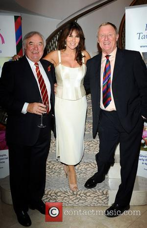 Chris Tarrant, Linda Lusardi and Terry Wogan