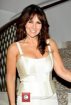 Linda Lusardi a tribute lunch for Sir Terry Wogan was held at the Dorchester Hotel London, England - 05.11.10