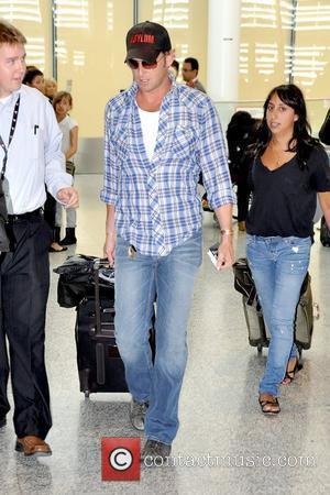 Josh Lucas Celebrities arriving at Toronto International Airport for the 35th Toronto International Film Festival Toronto, Canada - 09.09.10