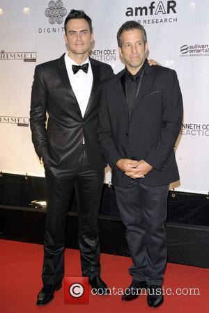Cheyenne Jackson and Kenneth Cole