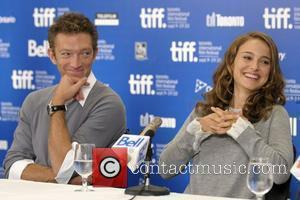 Vincent Cassel and Natalie Portman The 35th Toronto International Film Festival - 'Black Swan' press conference held at the Hyatt...