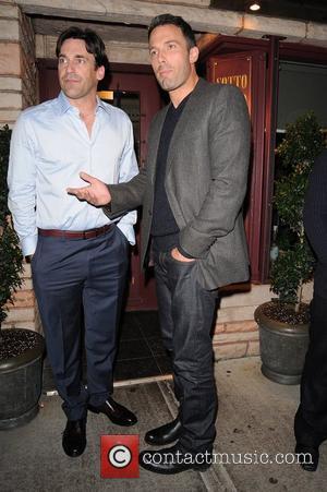 Jon Hamm and Ben Affleck