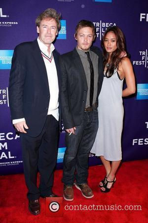 Norman Reedus, James Mccaffrey and Model Jarah Mariano