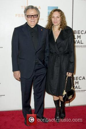 Harvey Keitel and his wife Daphna Kastner 9th Annual Tribeca Film Festival - Premiere of 'Ondine' at the Tribeca Performing...