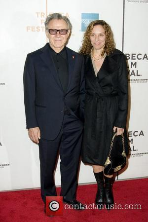 Harvey Keitel and His Wife Daphna Kastner