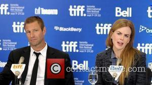 Aaron Eckhart and Nicole Kidman  The 35th Toronto International Film Festival - 'Rabbit Hole' press conference held at the...