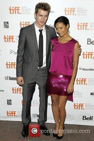Hayden Christensen and Thandie Newton