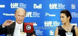 Ed Harris and Jennifer Connelly  The 35th Toronto International Film Festival - 'What's Wrong With Virgina' press conference held...