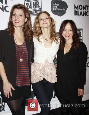 Nia Vardalos, Kyra Sedgwick and Rosie Perez