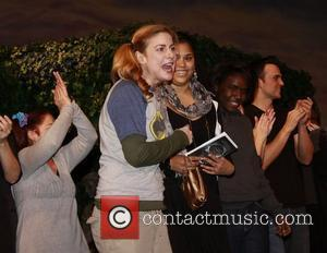 Diane Neal and cast The 10th Annual Production of 'The 24 Hour Plays', a benefit for Urban Arts Partnership, held...