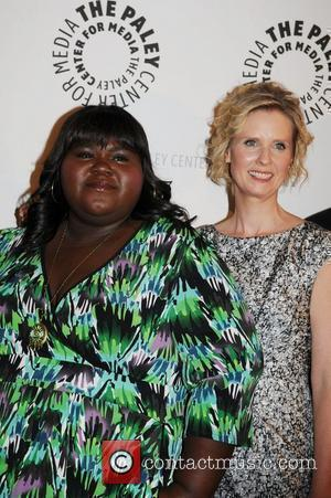 Gabourey Sidibe and Cynthia Nixon