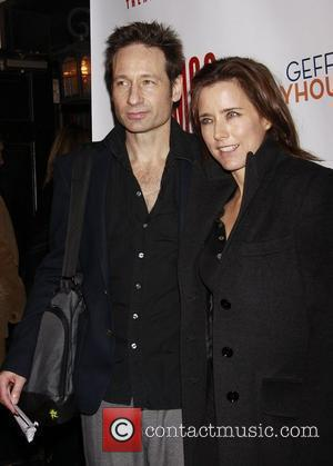 David Duchovny & Tea Leoni Reunite For Independence Day