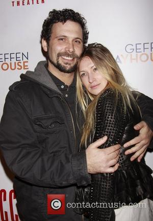 Jeremy Sisto and his wife Addie Lane Opening night after party for the Off-Broadway production of 'The Break of Noon'...