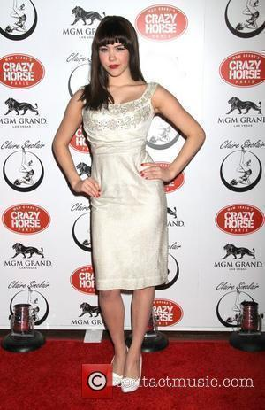 Playboy Playmate Claire Sinclair guest stars at The Crazy Horse Paris at the MGM Grand Resort & Casino Las Vegas,...