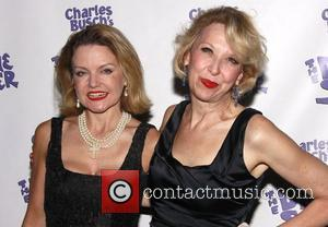 Alison Fraser and Julie Halston The opening night of the Off-Broadway production of 'Charles Busch's The Divine Sister' at the...