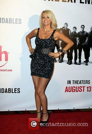 Angel Porrino Special Screening of ' The Expendables' at Planet Hollywood Resort Hotel & Casino Las Vegas, Nevada - 11.08.10