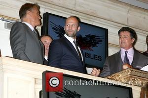 Dolph Lundgren, Jason Statham and Sylvester Stallone