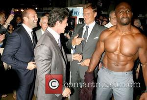 Jason Statham, Dolph Lundgren, Sylvester Stallone and Terry Crews