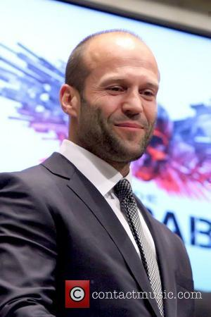 Jason Statham The cast of 'The Expendables' visit the New York Stock Exchange to ring the Opening Bell New York...