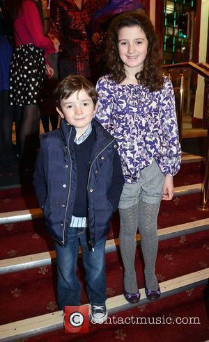 John & Lucy Keane (John B Keane's Grandchildren),  at the opening night of John B Keane's 'The Field' at...