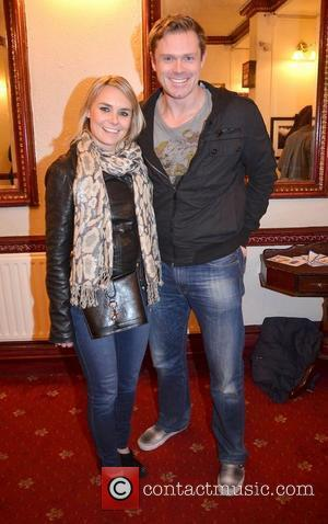 Grainne Ryan, Michael Sharpe,  at the opening night of John B Keane's 'The Field' at The Olympia Theatre -...