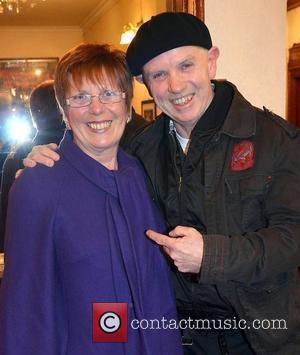 Mar Shiels, Brush Shiels,  at the opening night of John B Keane's 'The Field' at The Olympia Theatre -...