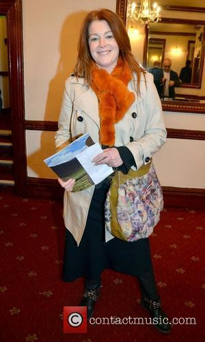 Blathnaid Ni Chofaigh,  at the opening night of John B Keane's 'The Field' at The Olympia Theatre - Arrivals...