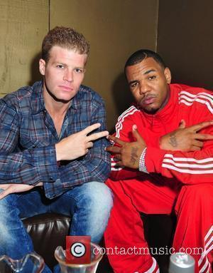 Micha Porat and The Game, real name Jayceon Terrell Taylor, celebrate the launch of The Game's new album 'The R.E.D....
